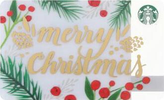 ホリデーシーズン限定メリークリスマスカード